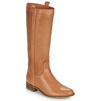 Παπούτσια Γυναίκα Μπότες για την πόλη Betty London ONEVER Cognac
