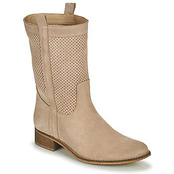 Παπούτσια Γυναίκα Μπότες για την πόλη Betty London ONEVER Beige