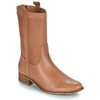 Παπούτσια Γυναίκα Μπότες για την πόλη Betty London ORYPE Cognac
