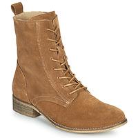 Παπούτσια Γυναίκα Μπότες Betty London ORYPE Cognac