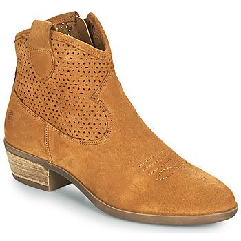 Παπούτσια Γυναίκα Μπότες Betty London OGEMMA Cognac