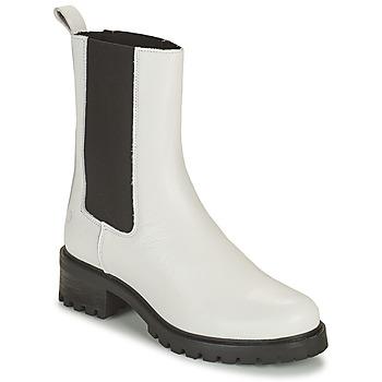 Παπούτσια Γυναίκα Μπότες Betty London OLANDI Άσπρο