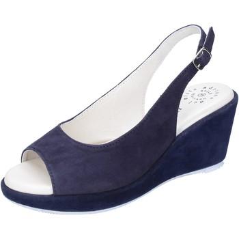 Παπούτσια Γυναίκα Σανδάλια / Πέδιλα Adriana Del Nista Σανδάλια BJ06 Μπλε