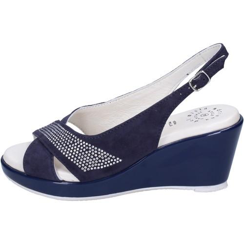 Παπούτσια Γυναίκα Σανδάλια / Πέδιλα Adriana Del Nista Σανδάλια BJ08 Μπλε