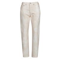 Υφασμάτινα Γυναίκα Boyfriend jeans Levi's 501 CROP Peche