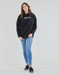 Υφασμάτινα Γυναίκα Skinny jeans Levi's 711 SKINNY Μπλέ