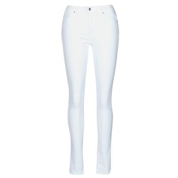 Υφασμάτινα Γυναίκα Skinny jeans Levi's 721 HIGH RISE SKINNY Άσπρο