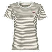 Υφασμάτινα Γυναίκα T-shirt με κοντά μανίκια Levi's PERFECT TEE Beige