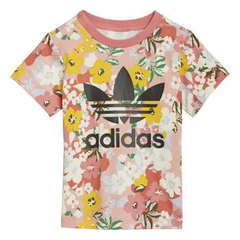 Υφασμάτινα Κορίτσι T-shirt με κοντά μανίκια adidas Originals DREZZI Multicolour