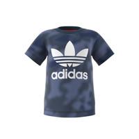 Υφασμάτινα Αγόρι T-shirt με κοντά μανίκια adidas Originals GN4116 Μπλέ
