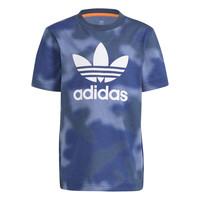 Υφασμάτινα Αγόρι T-shirt με κοντά μανίκια adidas Originals GN4119 Μπλέ