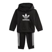 Υφασμάτινα Παιδί Φούτερ adidas Originals DV2809 Black