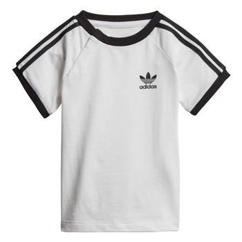 Υφασμάτινα Παιδί T-shirt με κοντά μανίκια adidas Originals DV2824 Άσπρο