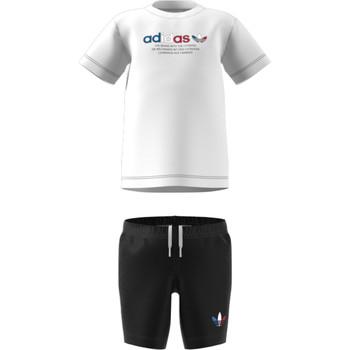 Υφασμάτινα Παιδί Σετ adidas Originals GN7413 Άσπρο