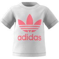 Υφασμάτινα Παιδί T-shirt με κοντά μανίκια adidas Originals GN8175 Άσπρο
