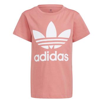 Υφασμάτινα Παιδί T-shirt με κοντά μανίκια adidas Originals GN8205 Άσπρο