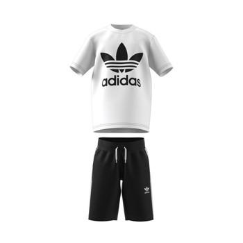Υφασμάτινα Παιδί Σετ adidas Originals COLIPA Άσπρο