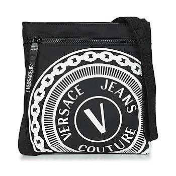 Τσάντες Άνδρας Pouch / Clutch Versace Jeans Couture SOLEDA Black / Άσπρο