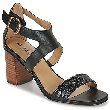 Παπούτσια Γυναίκα Σανδάλια / Πέδιλα JB Martin 1NAWELI Black / Grey