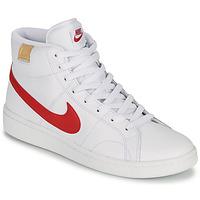 Παπούτσια Άνδρας Χαμηλά Sneakers Nike COURT ROYALE 2 MID Άσπρο / Red