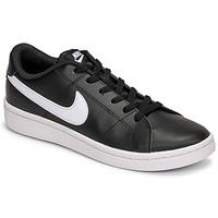 Παπούτσια Άνδρας Χαμηλά Sneakers Nike COURT ROYALE 2 LOW Black / Άσπρο