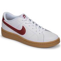 Παπούτσια Άνδρας Χαμηλά Sneakers Nike COURT ROYALE 2 LOW Άσπρο / Red