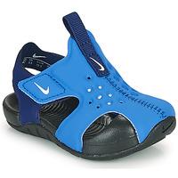 Παπούτσια Αγόρι σαγιονάρες Nike SUNRAY PROTECT 2 TD Μπλέ