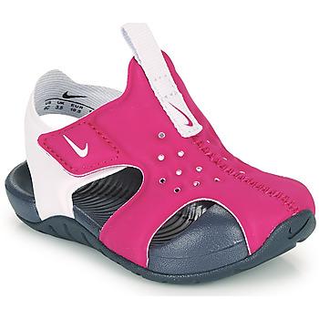Παπούτσια Κορίτσι σαγιονάρες Nike SUNRAY PROTECT 2 TD Violet