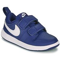 Παπούτσια Αγόρι Χαμηλά Sneakers Nike PICO 5 PS Μπλέ / Άσπρο
