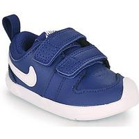 Παπούτσια Αγόρι Χαμηλά Sneakers Nike PICO 5 TD Μπλέ / Άσπρο