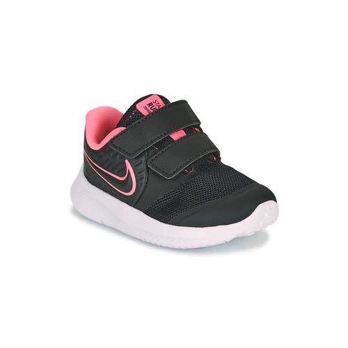 Παπούτσια Κορίτσι Multisport Nike STAR RUNNER 2 TD Black / Ροζ