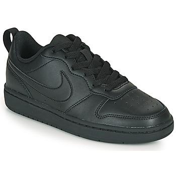 Παπούτσια Παιδί Χαμηλά Sneakers Nike COURT BOROUGH LOW 2 GS Black