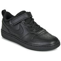 Παπούτσια Παιδί Χαμηλά Sneakers Nike COURT BOROUGH LOW 2 PS Black