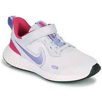 Παπούτσια Κορίτσι Multisport Nike REVOLUTION 5 PS Μπλέ / Violet