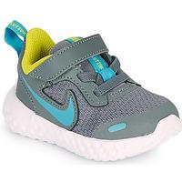 Παπούτσια Αγόρι Multisport Nike REVOLUTION 5 TD Grey / Μπλέ