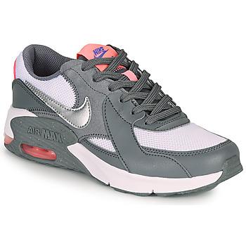 Παπούτσια Κορίτσι Χαμηλά Sneakers Nike AIR MAX EXCEE GS Grey / Ροζ