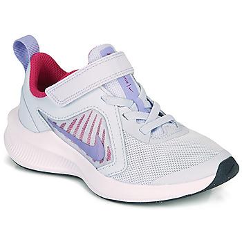 Παπούτσια Κορίτσι Multisport Nike DOWNSHIFTER 10 PS Μπλέ / Violet