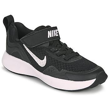 Παπούτσια Παιδί Multisport Nike WEARALLDAY PS Black / Άσπρο