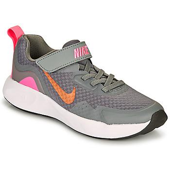 Παπούτσια Κορίτσι Multisport Nike WEARALLDAY PS Grey / Ροζ