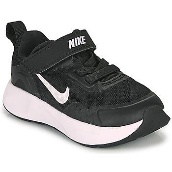 Παπούτσια Παιδί Multisport Nike WEARALLDAY TD Black / Άσπρο