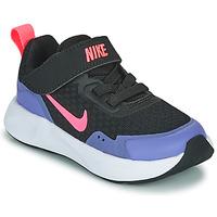 Παπούτσια Κορίτσι Multisport Nike WEARALLDAY TD Black / Μπλέ