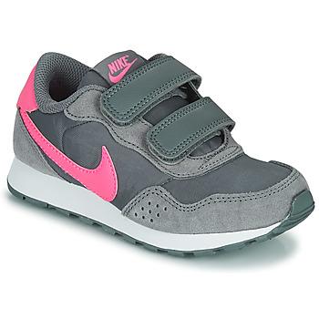 Παπούτσια Κορίτσι Χαμηλά Sneakers Nike MD VALIANT PS Grey / Ροζ