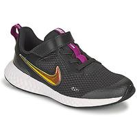 Παπούτσια Κορίτσι Χαμηλά Sneakers Nike REVOLUTION 5 SE PS Black