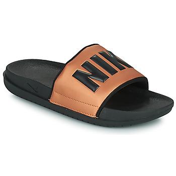Παπούτσια Γυναίκα σαγιονάρες Nike NIKE OFFCOURT Black / Bronze