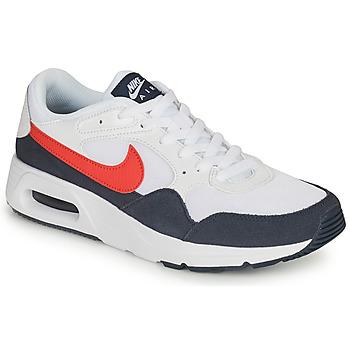 Παπούτσια Άνδρας Χαμηλά Sneakers Nike NIKE AIR MAX SC Άσπρο / Red / Μπλέ