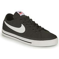 Παπούτσια Άνδρας Χαμηλά Sneakers Nike NIKE COURT LEGACY CANVAS Black / Άσπρο