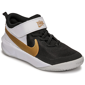 Παπούτσια Παιδί Multisport Nike NIKE TEAM HUSTLE D 10 Άσπρο / Black / Gold