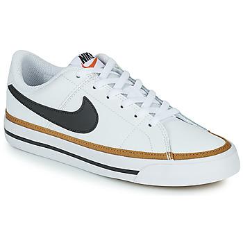 Παπούτσια Παιδί Χαμηλά Sneakers Nike NIKE COURT LEGACY Άσπρο / Black
