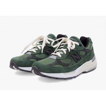 Παπούτσια Χαμηλά Sneakers New Balance JJJJound x New Balence 992 Green Green - Grey