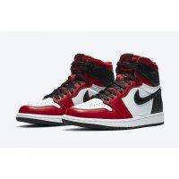 Παπούτσια Χαμηλά Sneakers Nike Air Jordan 1 High WMNS Satin Snake Gym Red/White-Black